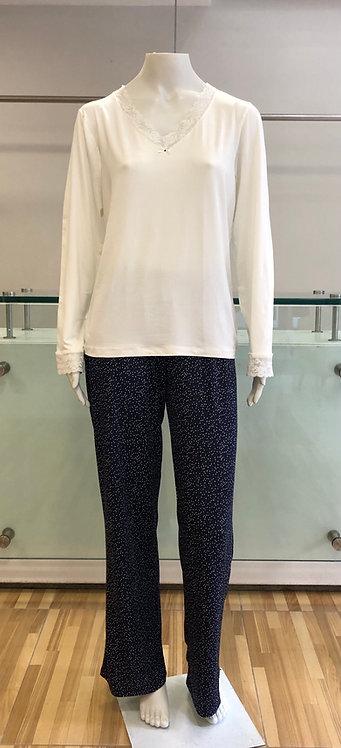 Pijama Calça Pingos - W21405