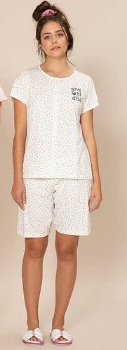 Pijama Bermuda Aberto - 040125