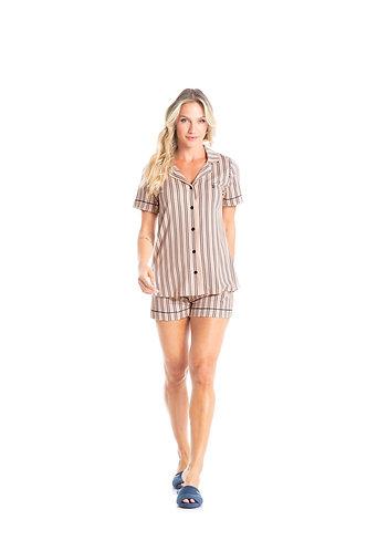Pijama Curto Aberto - 4724