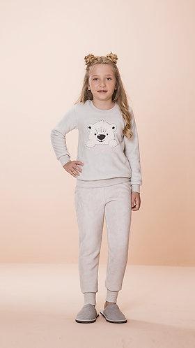 Pijama Plush Infantil - 1249