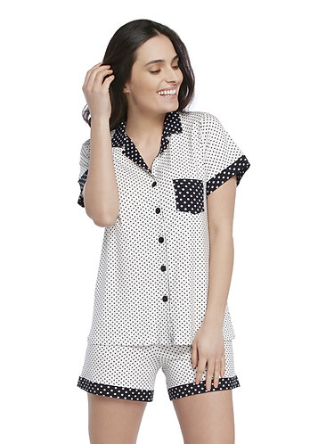 Pijama Curto Aberto - 113460