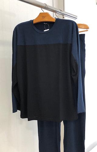 Pijama Longo com Recorte - W21409