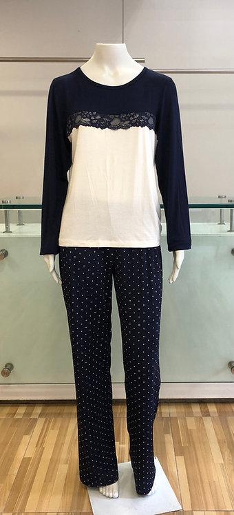 Pijama Calça Pois -W21407