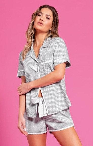 Pijama Curto Aberto - 09805