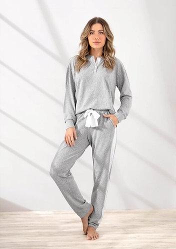 Pijama Longo Tricot - 9945