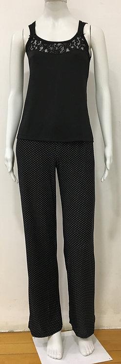 Pijama Longo Pois - W17455