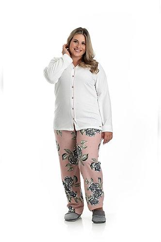 Pijama Aberto Soft - 0801080
