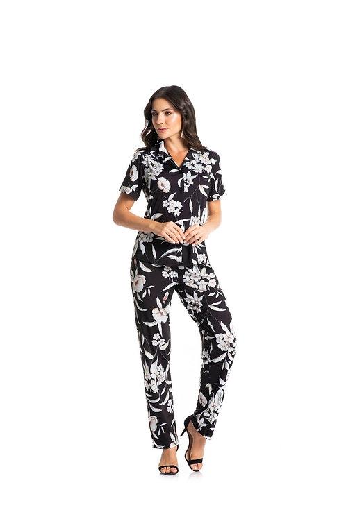 Pijama Longo Aberto - 3440B