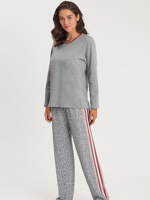 Pijama Moletinho com elastano - 13872