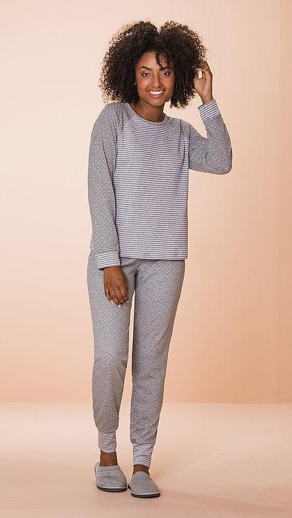 Pijama Dupla Face - 8608