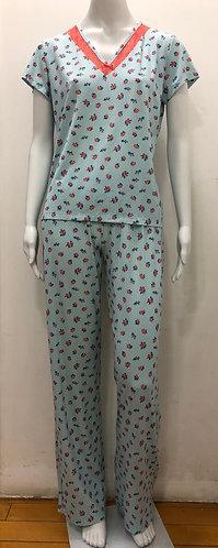 Pijama Detalhe Renda - 23401