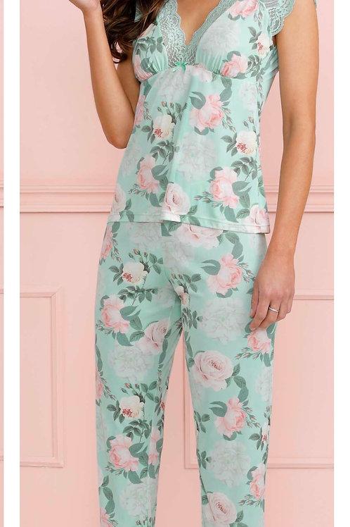 Pijama Ombro/Barra Renda - 718556