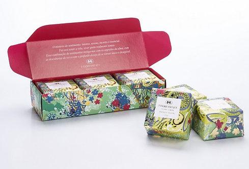 Sabonete Vegetal Floral Lemon -  3 unidades