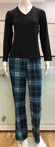 Pijama Longo Xadrez - W20402