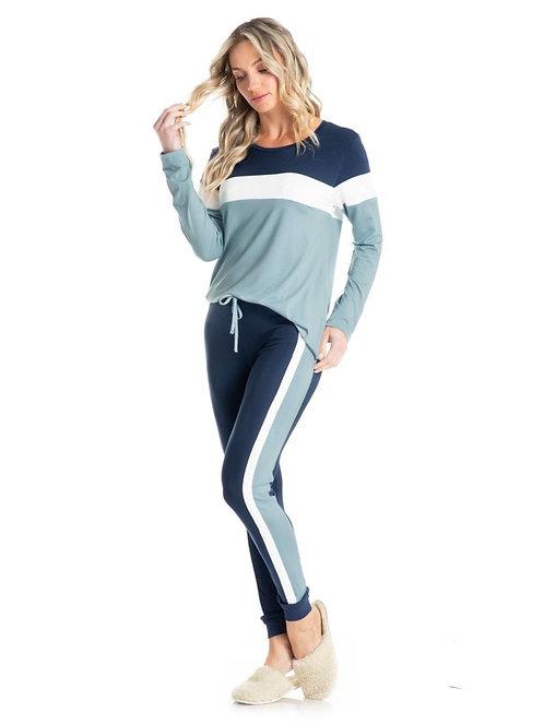 Pijama Joger Recorte - 8898B