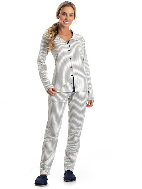 Pijama Algodão Aberto - 0801099