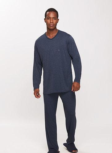 Pijama Longo Microdry - 14629