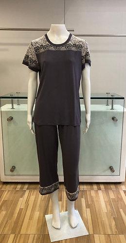 Pijama Pescador com Renda - W21413