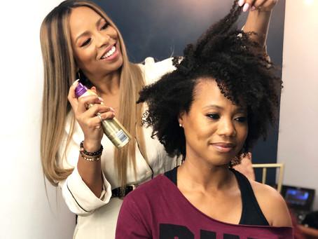 Natural Hair, Pantene Gold Series And Kiyah Wright On Access Daily!
