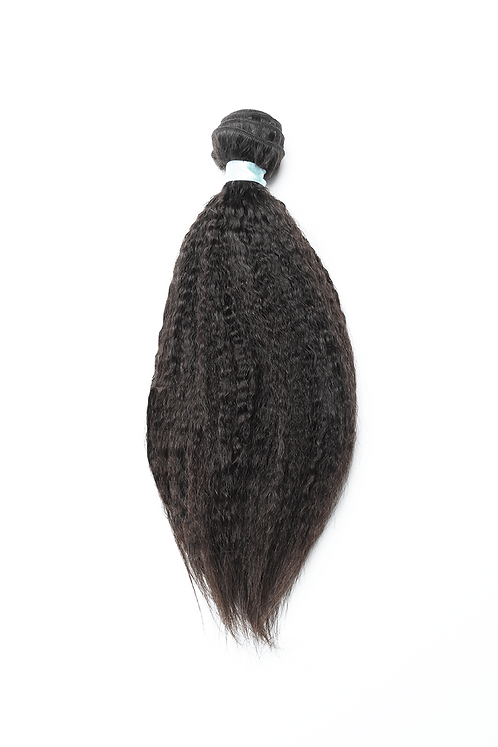 Kinky Straight Hair Extensions | 100% Virgin Human Hair Bundles