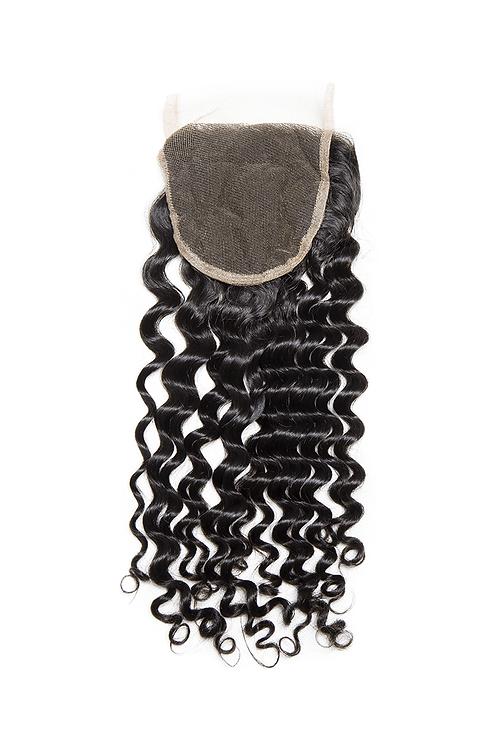 Water Wave Hair Extension Closure | 100% Virgin Human Hair