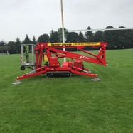 Northern Rugby Club painting goal posts