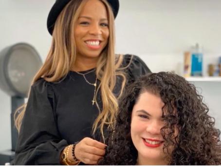 Kiyah's Curly Makeover Magic Featuring Pantene's Gold Series