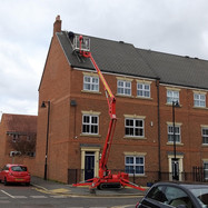 Great Park fixing roof tiles