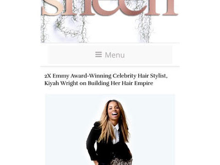 Kiyah Wright Sat Down With Sheen Magazine To Chat About Building Her Empire!