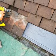 Brunton Park tile repair