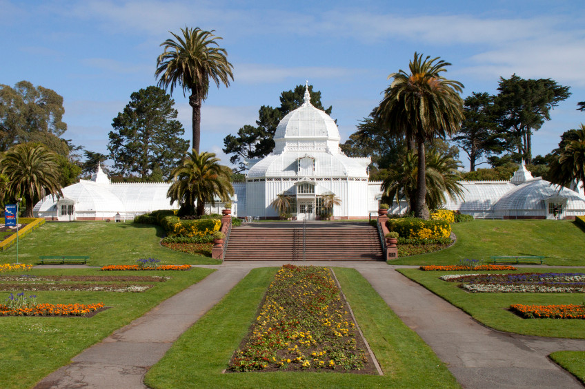 Located in Golden Gate Park