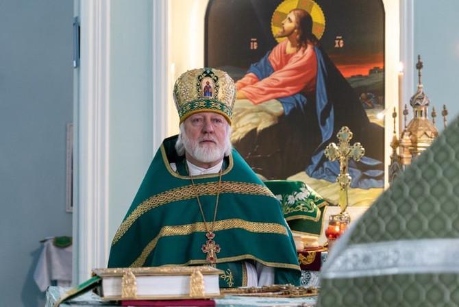 Отошел ко Господу настоятель храма во имя блаженной Ксении Петербургской Протоиерей Фёдор Бажанов