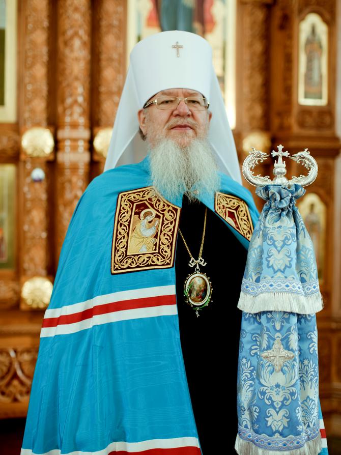 Поздравление с Днем рождения митрополиту Сергию от клира и мирян Воронежской митрополии