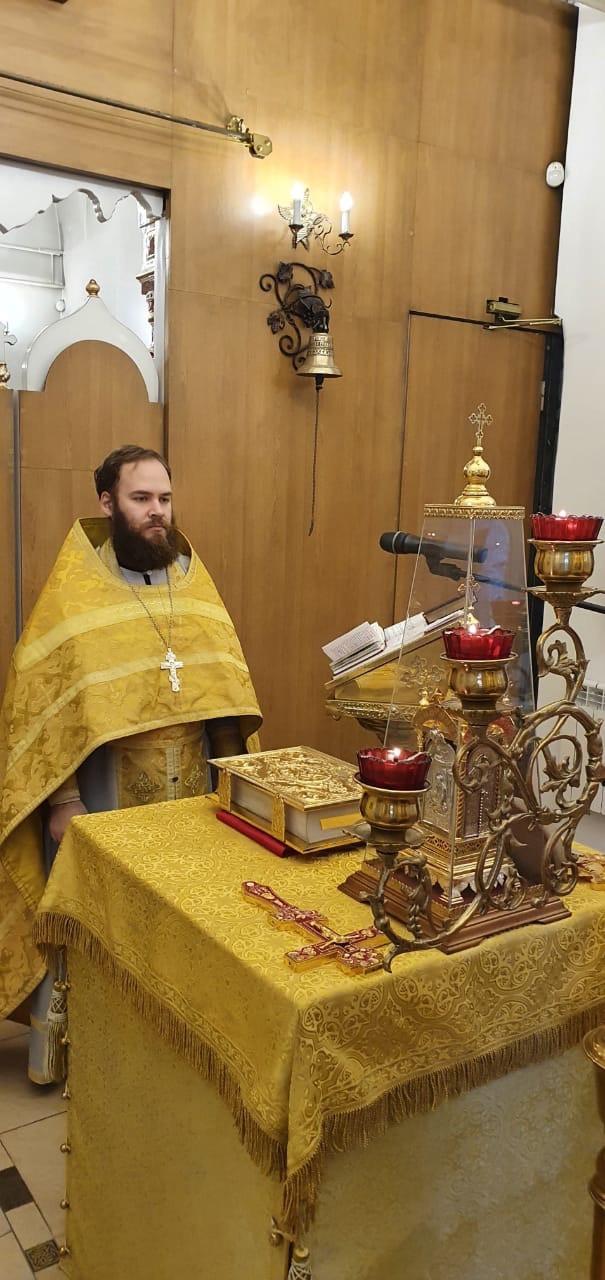 Божественная литургия Неделя 25-я по Пятидесятнице. Свт. Иоа́нна Златоуста.