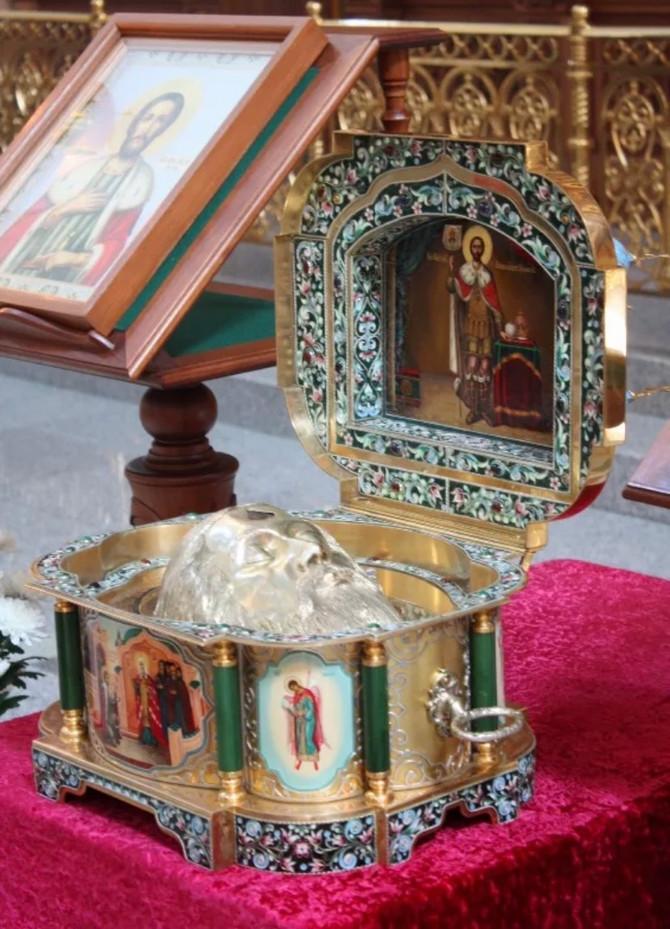 С 9 по 11 августа в Воронеже будет пребывать ковчег с мощами святого князя Александра Невского