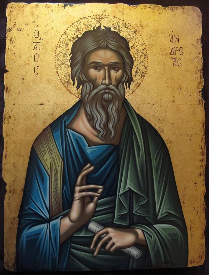 13 декабря, день памяти апостола Андрея Первозванного
