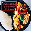 D9: Sweet & Sour Stir Fry