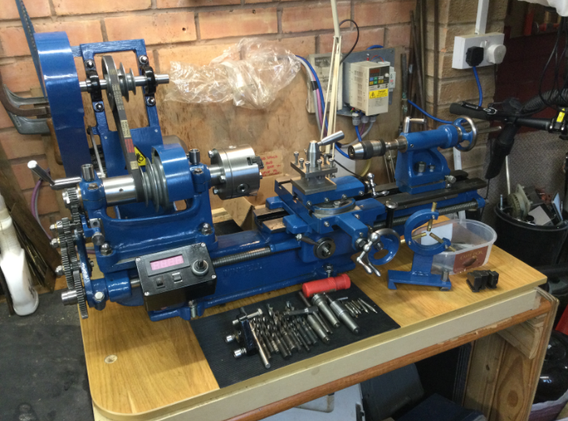 Winfield Mk3 Metalworking Lathe
