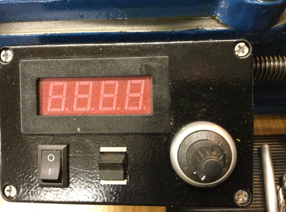Speed controller, forward/reverse, start and speed dial