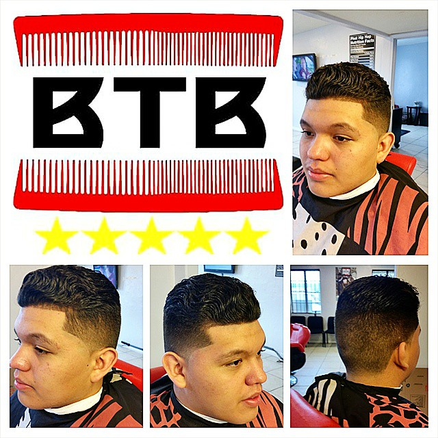 Instagram - Order2go from BTB last cut of the day done. Had to get my boy super