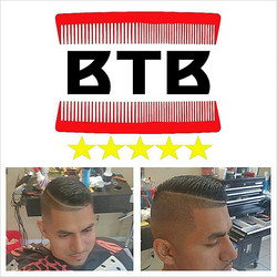 Instagram - Had to hit my dude Ivan with a little twist to the comb over. Book B