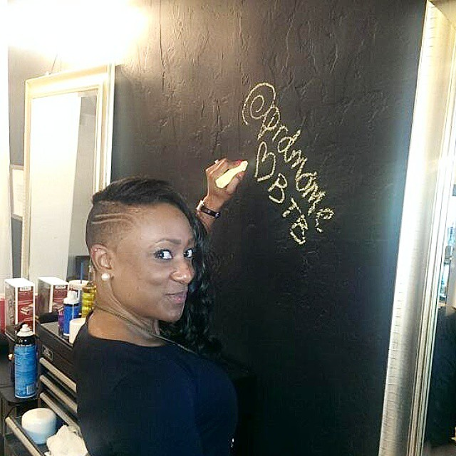 Instagram - First to sign the wall, whos next @ www.jpgbrockthebarber.jpgcom boo