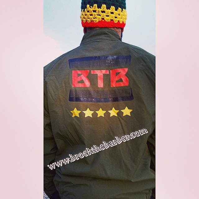Instagram - Finished the first BTB jacket last night.  Book BTB at www.brocktheb