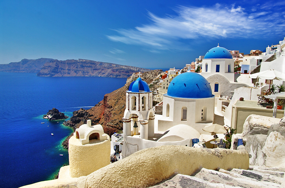 Win a Trip to Santorini