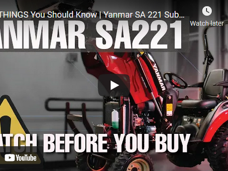 Do You Know These 7 Things About the Yanmar SA 221 Subcompact Tractor?