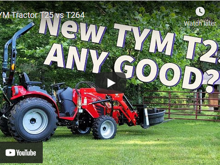 TYM Tractor T25 vs T264