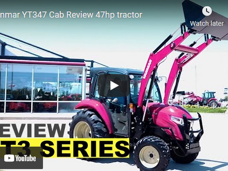Yanmar Tractor YT347 Product Overview and Review