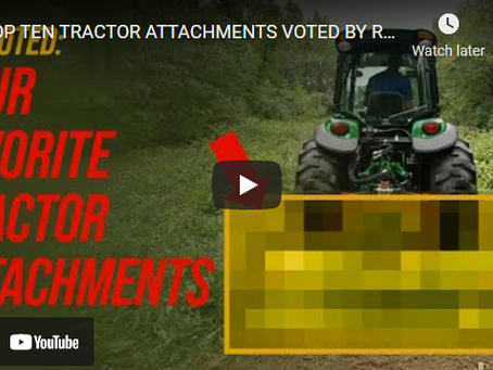 The Top 10 Tractor Attachments Revealed