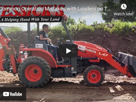 Do You Make These Dangerous Mistakes with Your Tractor Loader?