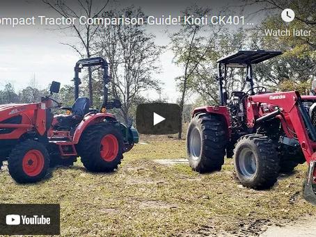 Tractor Wars - Kioti CK4010 vs. The Mahindra 4540